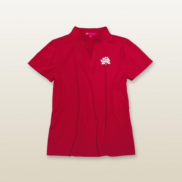 シンプル蓮タイチーTシャツ