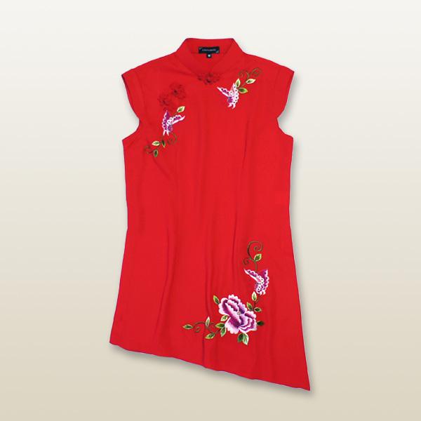 中華刺繍デザイン太極拳服