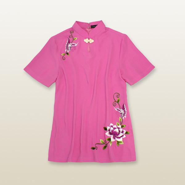 中華刺繍タイチー服